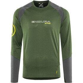 Endura MT500 Burner Longsleeve Jersey Men, forestgreen